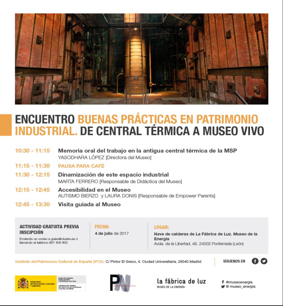 Trobada: Buenas Prácticas en Patrimonio Industrial