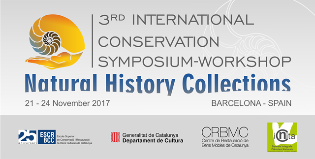 3rd INTERNATIONAL CONSERVATION SYMPOSIUM-WORKSHOP OF NATURAL HISTORY COLLECTIONS