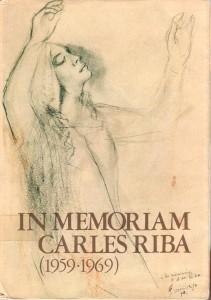 In Memoriam Carles Riba (1950-1969)