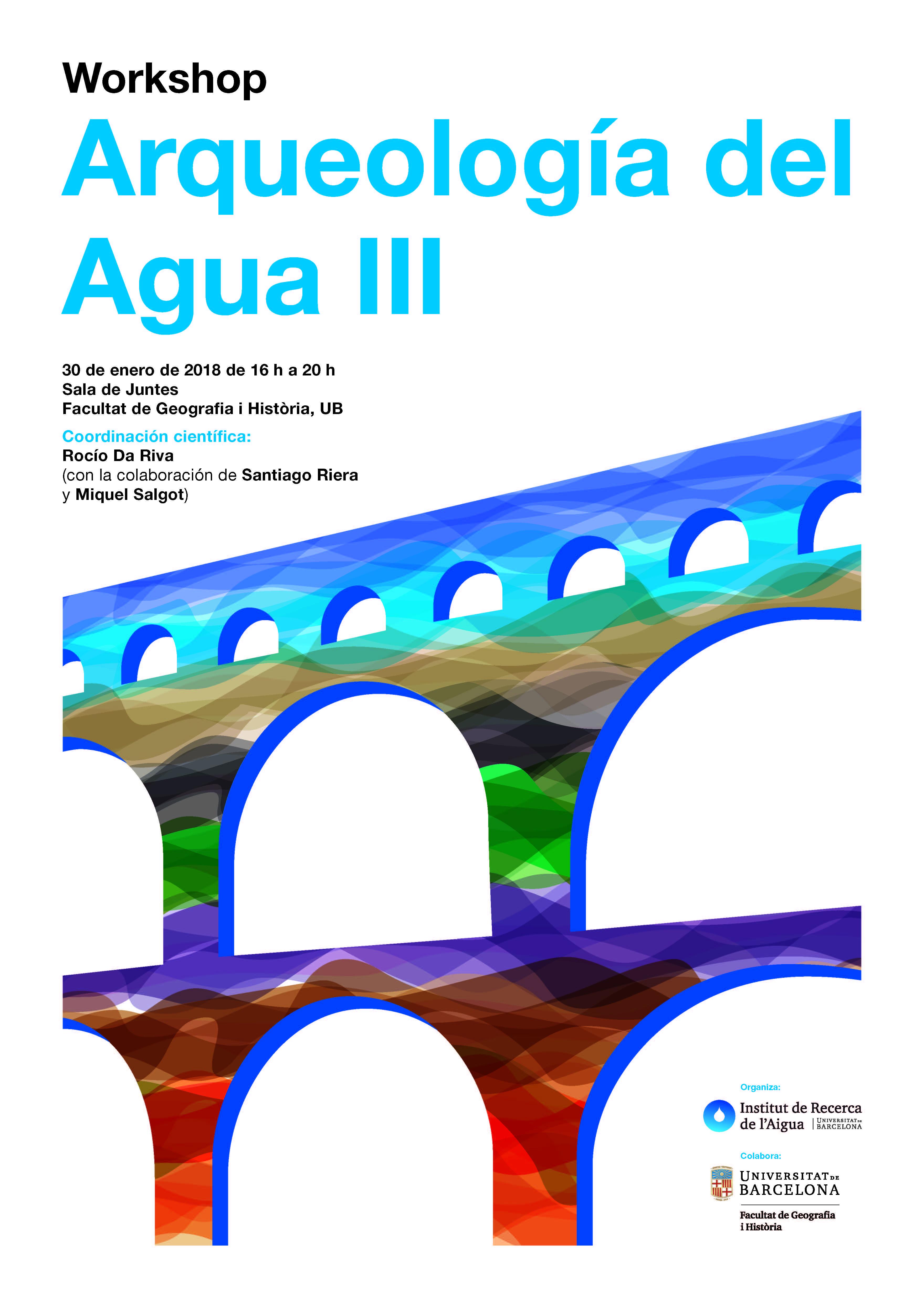 """Workshop """"Arqueología del Agua III"""""""