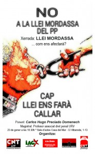 Cartell Mordassa CGT definitiu