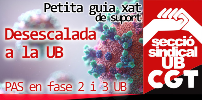caràtula desescalada fase 2 i 3