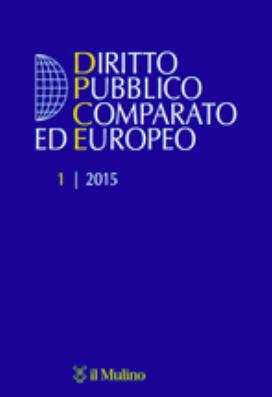 Rivista Diritto Publico Comparato ed Europeo