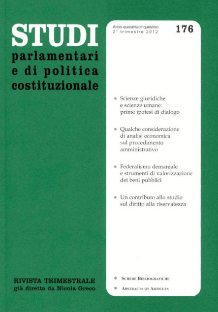 Studi parlamentari e di diritto costituzionale
