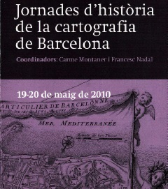 Conference of history of the cartography of Barcelona