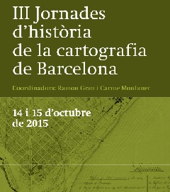 Third Conference of history of the cartography of Barcelona