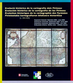 Historical evolution of the Pyrenees cartography