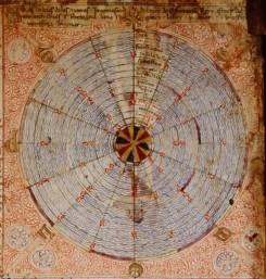 Tides and the Catalan Atlas [1375]