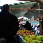 Brindisi: the food market in the Commenda neighborhood. Agriculture has always flourished in the province, providing also a socially and economically valuable source of self-provisioning and informal trade.