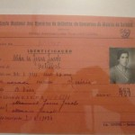 "The feminized labour force of the canning sector - A female factory worker membership card of the ""Sindicato Nacional dos Operários da Indústria de Conservas do Distrito de Setúbal"" (National Union of the Canning Factory Workers of the District of Setúbal)"