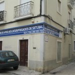 "The ""Social Support Centre for the Unemployed in Setúbal"", located in Bairro Tróino"
