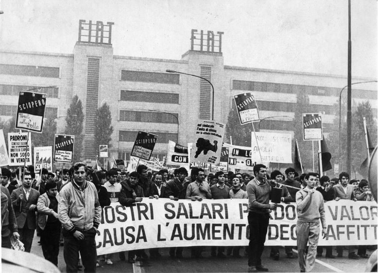 Fiat workers, hot autumn 1969 [photo: cc sa-by, via libcom.org]