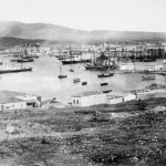 The port of Piraeus in 1860