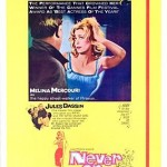 Poster from the film 'Never on Sunday', directed by Jules Dassin
