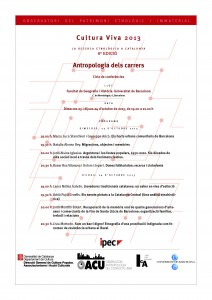 Antropologia dels carrers, 6a edició