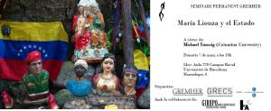 MARÍA LIONZA Y EL ESTADO