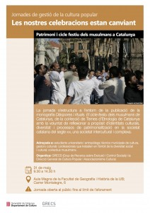 Cartell Patrimoni i cicle festiu musulmans