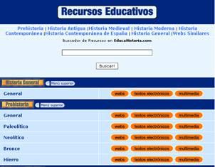 educahistoria recursos educativos