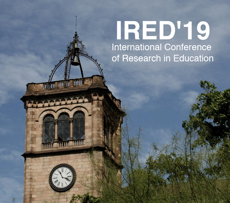 IRED'19 – International Conference of Research in Education