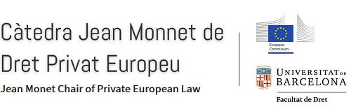 Cátedra Jean Monnet de Derecho Privado Europeo