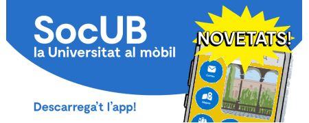 App Sóc UB - novetats