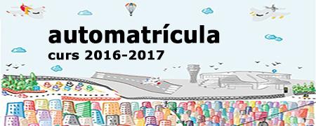 Automatr�cula 2016-17