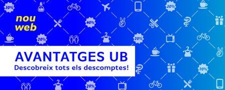 Nou web Avantatges UB