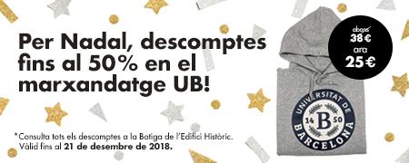 Campanya Nadal Botiga UB