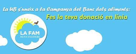 Campanya Banc dels Aliments UB