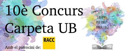 Concurs Carpeta UB