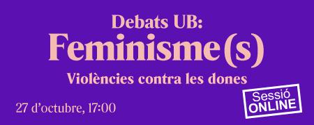 Debat feminista 27 d'octubre