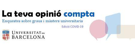 Enquestes de graus i màsters Edició COVID-19