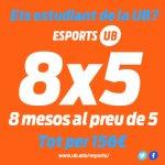 Esports UB promoció 8x5
