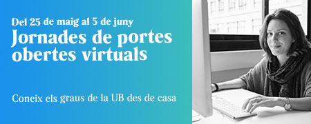 Jornades de Portes Obertes Virtuals 2020