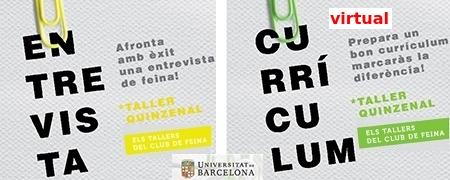 Tallers: currículum i entrevista