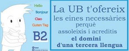 B2 Acreditaci� de llengua estrangera
