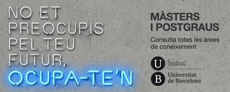 M�sters i Postgraus a la UB