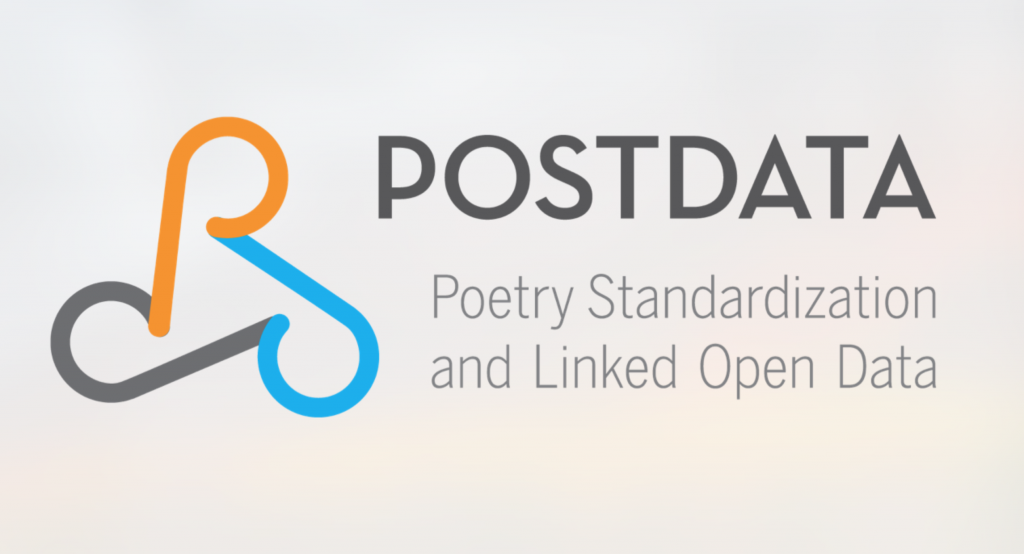 POSTDATA: Open poetry, open science and linked open data