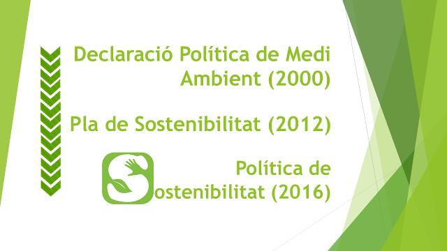 De la política ambiental a la política de sostenibilitat