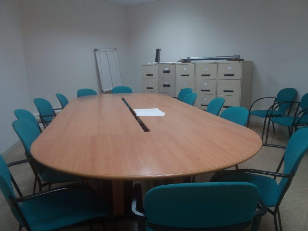 Imatge d'una sala de reunions de la UB.