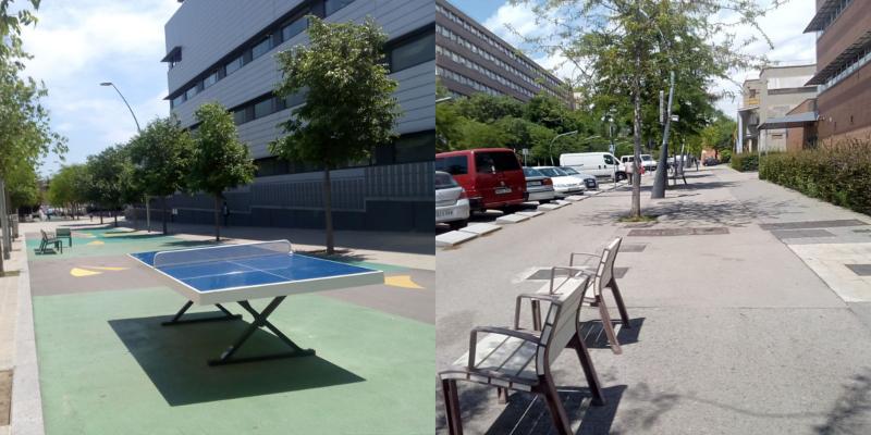Pacificació de carrers al Campus Diagonal