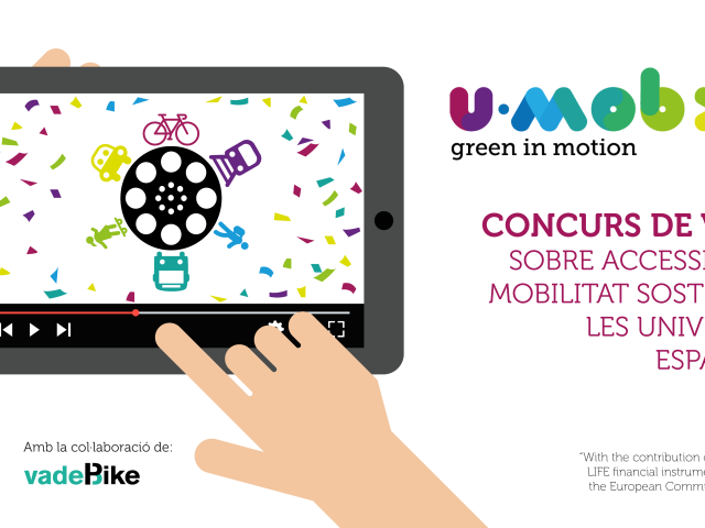 Concurs de vídeos sobre mobilitat