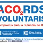 Etiqueta Acords Voluntaris reducció CO2