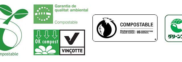Distintius productes compostables