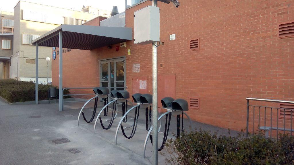 aparcament segur bicicleta vadebike facultat ciencies de la terra