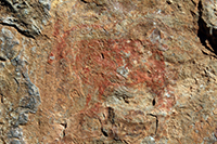 Descobreixen un conjunt de pintures rupestres de fa 7.000 anys a Portell de Morella