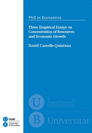 empirical essays on finance and development