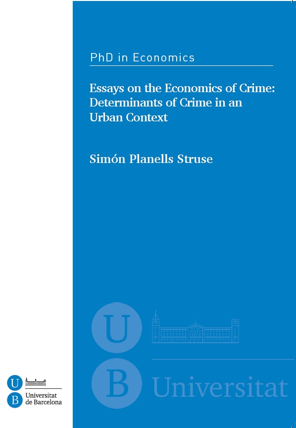 three essays on development economics and political economy Essays on political economy this thesis is integrated by five essays divided in three two critical issues for economic development that have received.