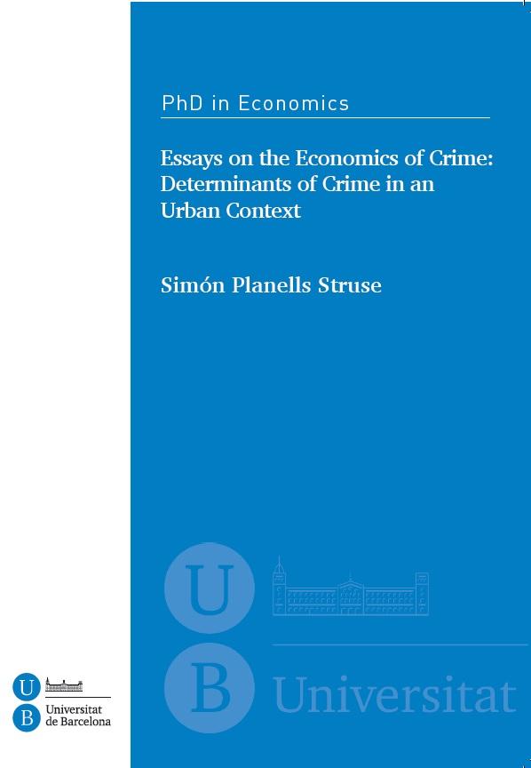 essays in the economics of crime