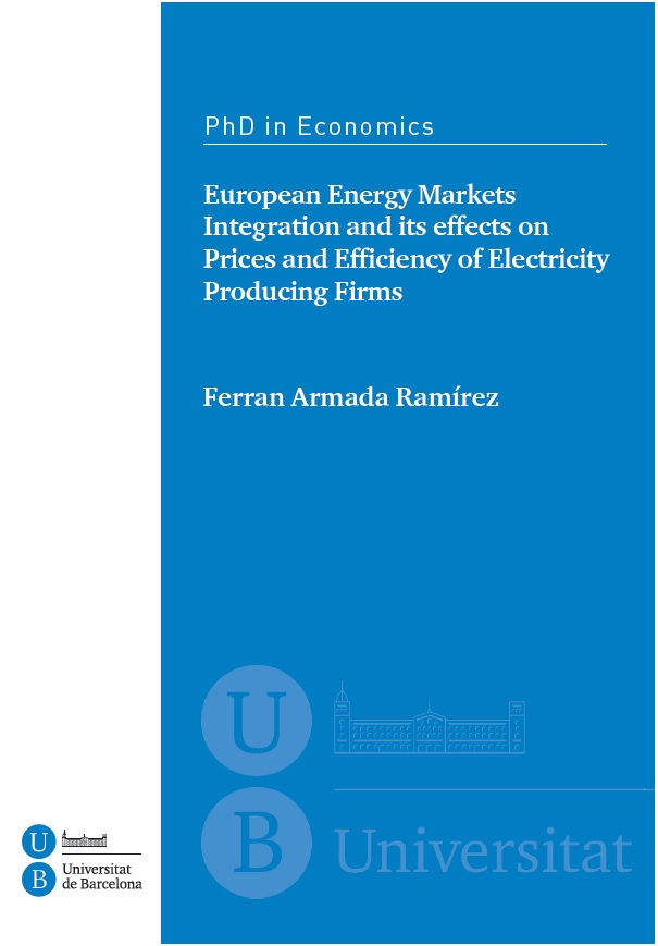 electricity market thesis The market for electricity has changed significantly in the past two decades electricity production and distribution is a natural monopoly as with most other historic natural monopolies, such as telephones, the electricity market in the united states was a vertically integrated market, regulated by government for many decades.